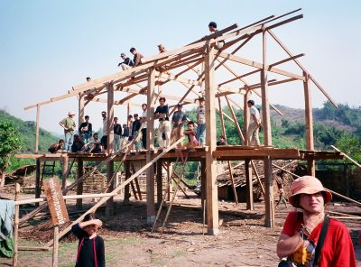 Download this They Were Building House The Lenten Village picture